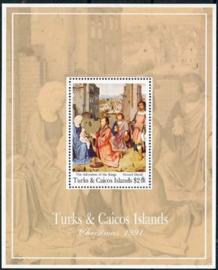 Turks, michel blok 111, xx