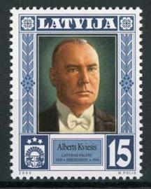 Letland, michel 531, xx
