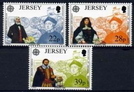 Jersey, michel 574/76, xx