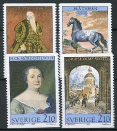 Zweden, michel 1446/49, xx