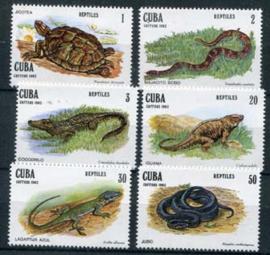 Cuba, michel 2667/72, xx