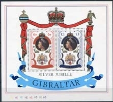 Gibraltar, michel blok 3, xx