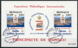 Monaco, michel blok 81, o