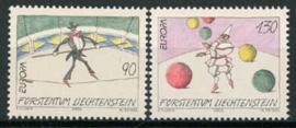 Liechtenstein, michel 1283/84, xx