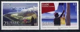 Antarctica Fr., michel 760/61, xx