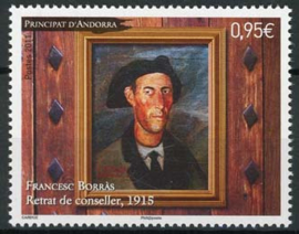 Andorra Fr., michel 729, xx