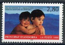 Andorra Fr., michel 490, xx