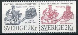 Zweden, michel 1334/35, xx