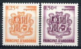 Andorra Sp., michel 285/86, xx