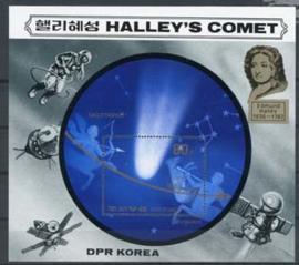Korea N., michel blok 203, xx