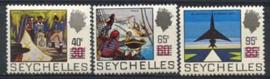 Seychelles, michel 296/98, xx
