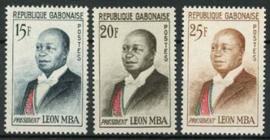 Gabon, michel 167/69, xx