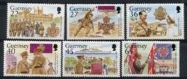 Guernsey , michel 932/37 , xx