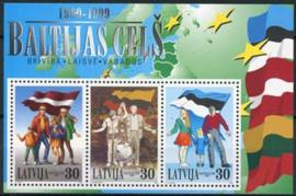 Letland, michel blok 13, xx