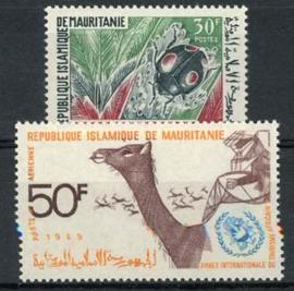 Mauretanie, michel 369/70, xx