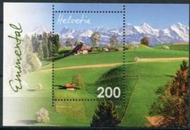 Zwitserland, michel blok 57, xx