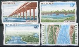Gabon, michel 578/81, xx