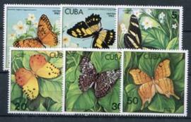 Cuba, michel 2627/32, xx