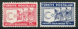 Turkije, michel 1014/15, xx