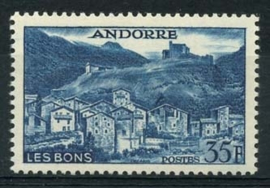 Andorra Fr., michel 161 , xx