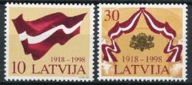 Letland,michel 490/91, xx