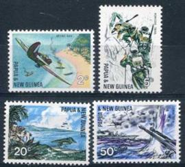Papua N.Guinea, michel 119/22, xx