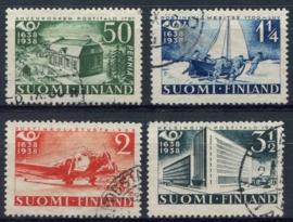 Finland, michel 213/16, o