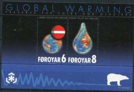 Faroer, michel blok 24, xx