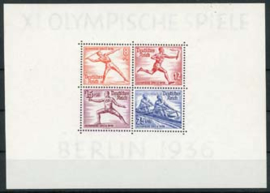 Duitse Rijk, michel blok 6 , xx