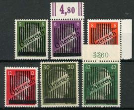 Oostenrijk, michel 668/73, xx