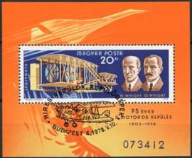 Hongarije, michel blok 129 A , o