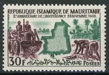 Mauretanie, michel 198, xx