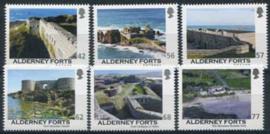Alderney, michel 532/37, xx
