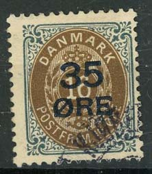 Denemarken, michel 60 I, o