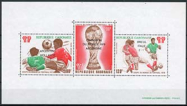 Gabon, michel blok 35, xx