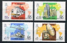 Hong Kong, michel 487/90, xx