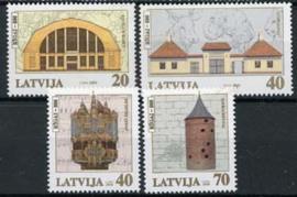Letland, michel 523-26, xx
