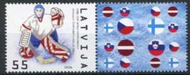 Letland, michel 667 A zf, xx