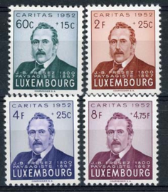 Luxemburg, michel 501/04, xx