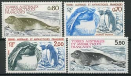 Antarctica Fr., michel 184/87, xx