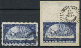 Oostenrijk, michel 555/56 A, o