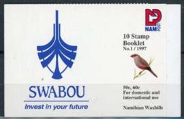 Namibie, michel MH 833/34, xx