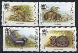 Swaziland, michel 548/51, xx