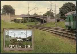 Letland, michel blok 20, xx