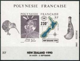 Polynesie, michel blok 17, xx