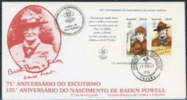 Brazilie, FDC michel blok 51, 1982