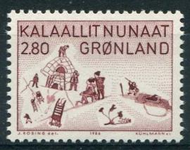 Groenland, michel 167, xx