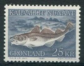 Groenland, michel 129, xx