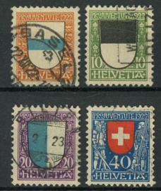 Zwitserland, michel 175/78, o