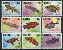 Zaire , michel 548/56, xx